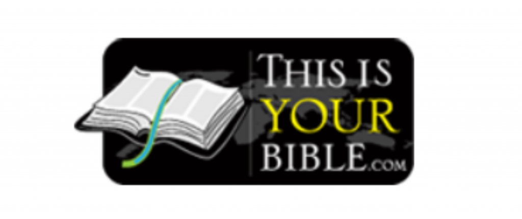 This is your Bible